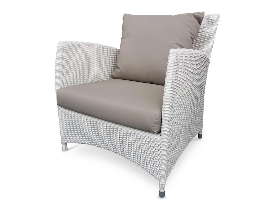 Madrid outdoor lounge chair - 6mm weave wicker