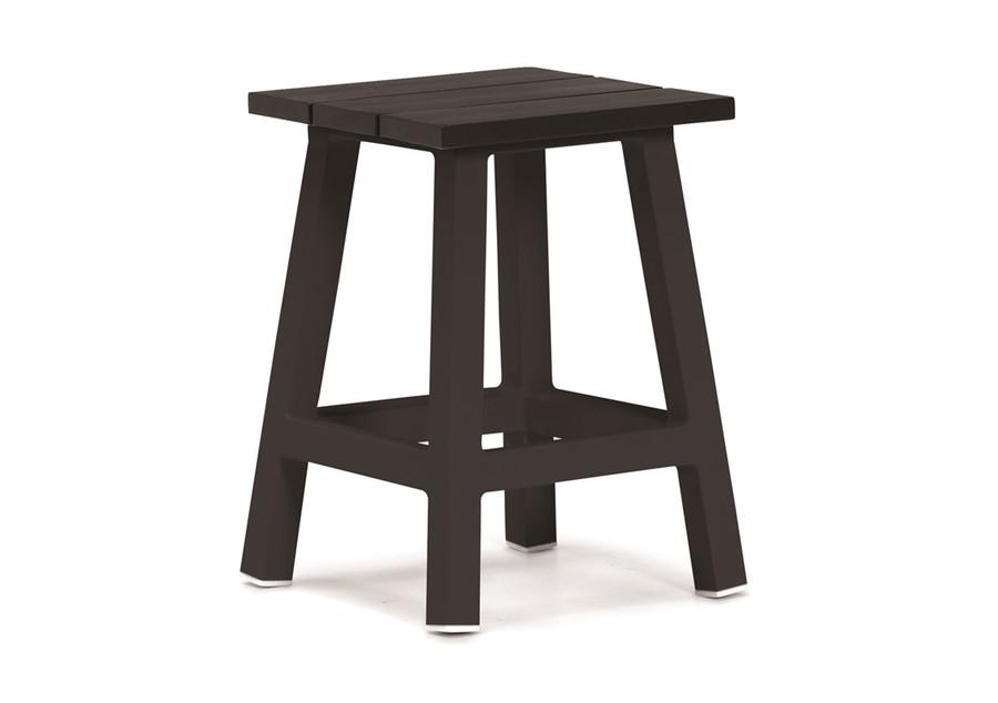 Messina outdoor stool/table aluminium - 3 colours