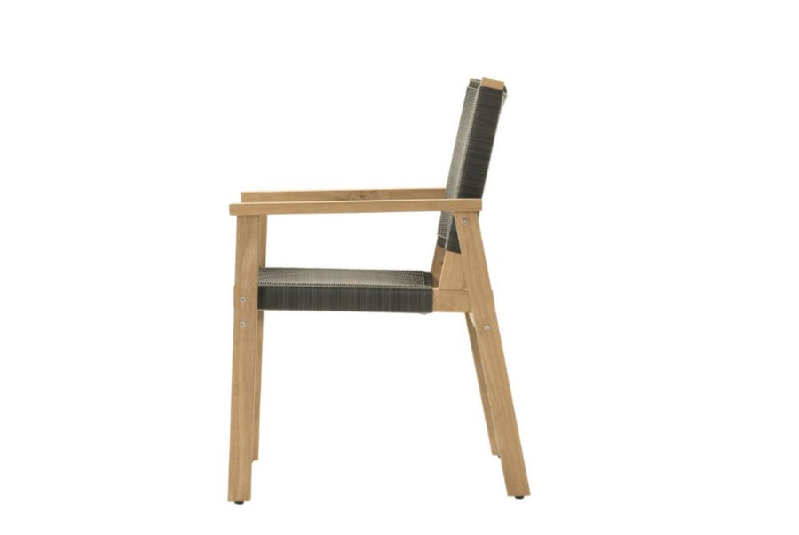 Devon Waipuna teak outdoor dining arm chair