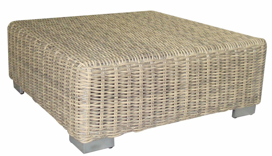 Andes outdoor footrest (ottoman)