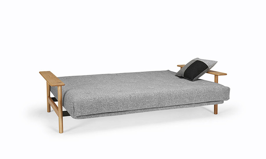 Balder Futon Style Double Sofa Bed by Innovation with Arms