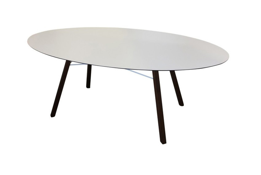 Wox Iroko outdoor dining table with HPL top - 200x120
