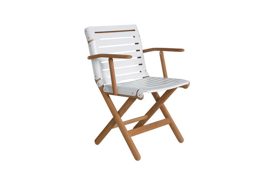 Maiori AT800 series outdoor folding arm chair