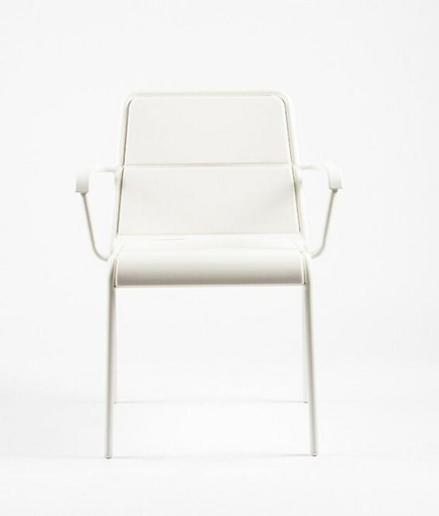 Maiori A600 outdoor aluminium arm chair - various colours