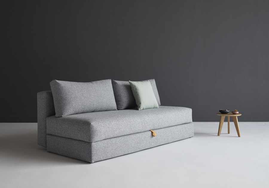 Osvald sofa bed in granite twist