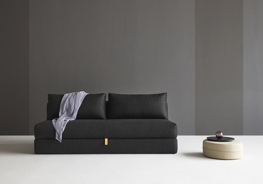 Osvald sofa bed in black twist