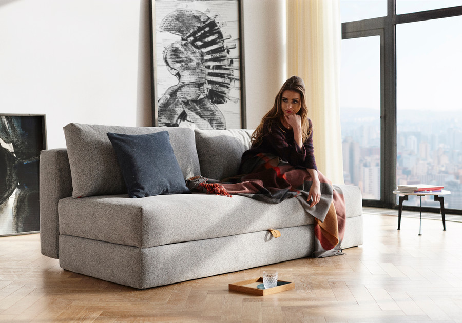 OSVALD Sofa Bed with Storage by Innovation