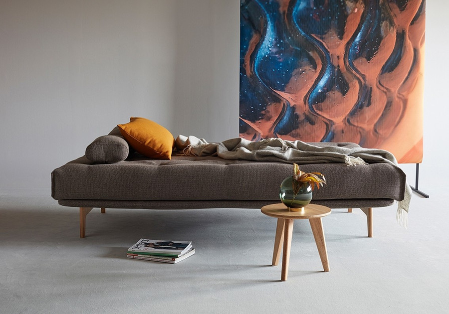 Aslak sofa bed in bed position