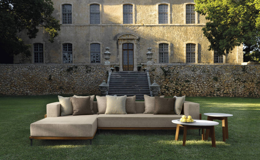Shown with optional Cleo coffee tables. Scatter cushions not included.
