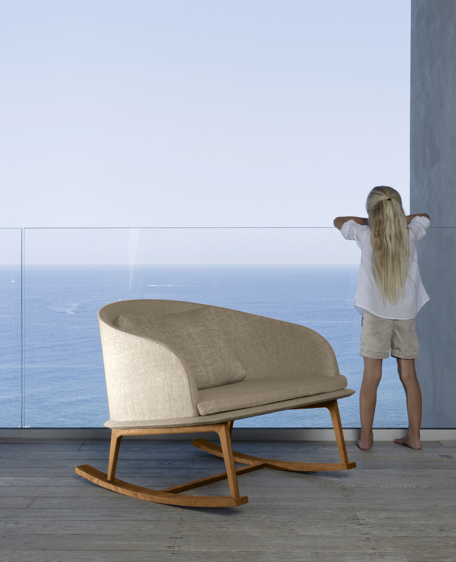 Cleo Outdoor Rocking Chair By Talenti – Teak
