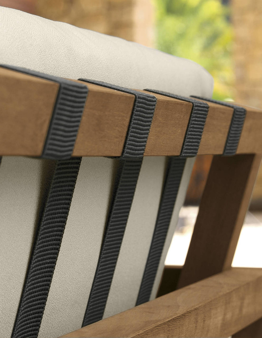 Alabama Outdoor Arm Chair By Talenti - Iroko Wood