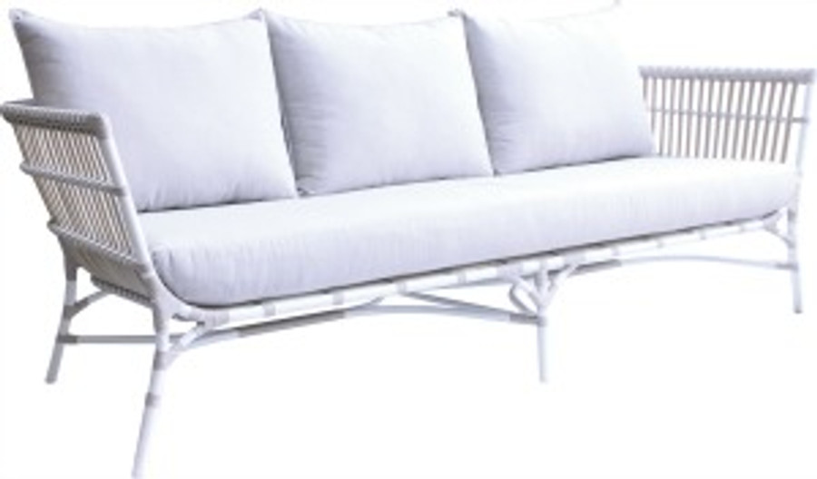 Yoko Outdoor Sofa In Synthetic Cord 212cm - ONE ONLY!