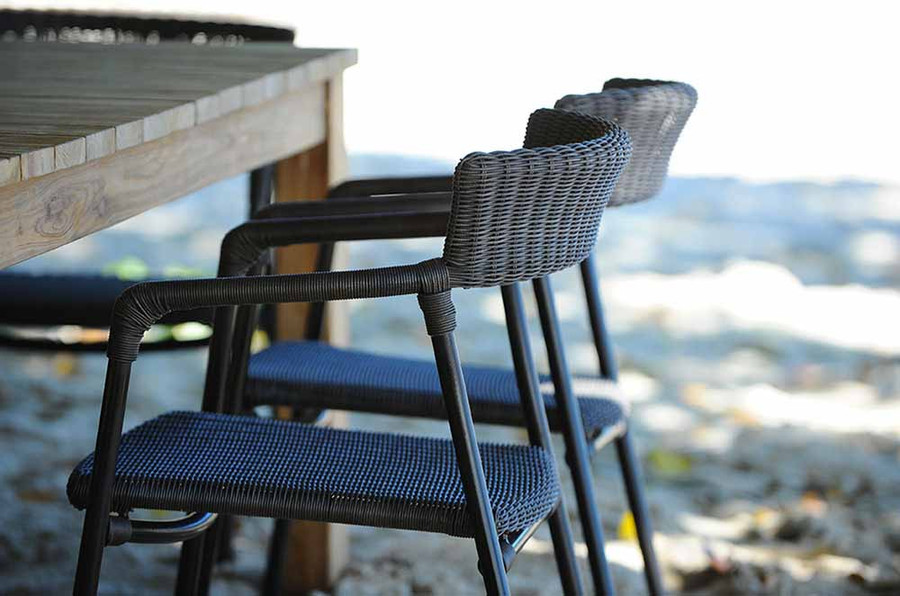 Izzy Outdoor Armchair - 3mm Round Cord Wicker - 3 ONLY LEFT!