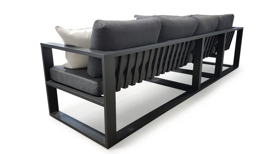 Left arm sofa module, corner sofa module, single arm-less sofa module and right arm sofa module