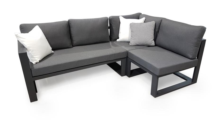 Left arm sofa module, corner sofa module and single arm-less sofa module