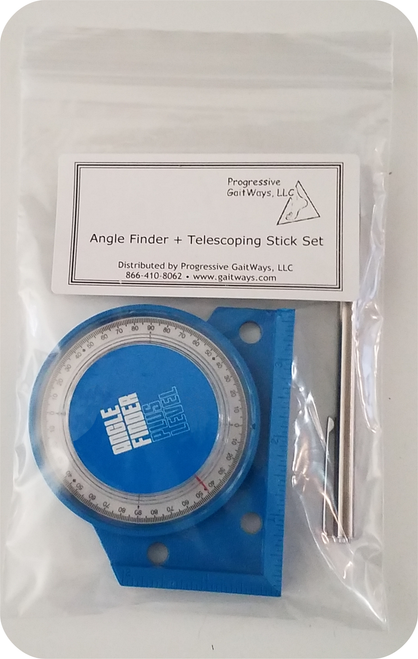 3 1/2 ANGLE FINDER and Telescoping Stick set