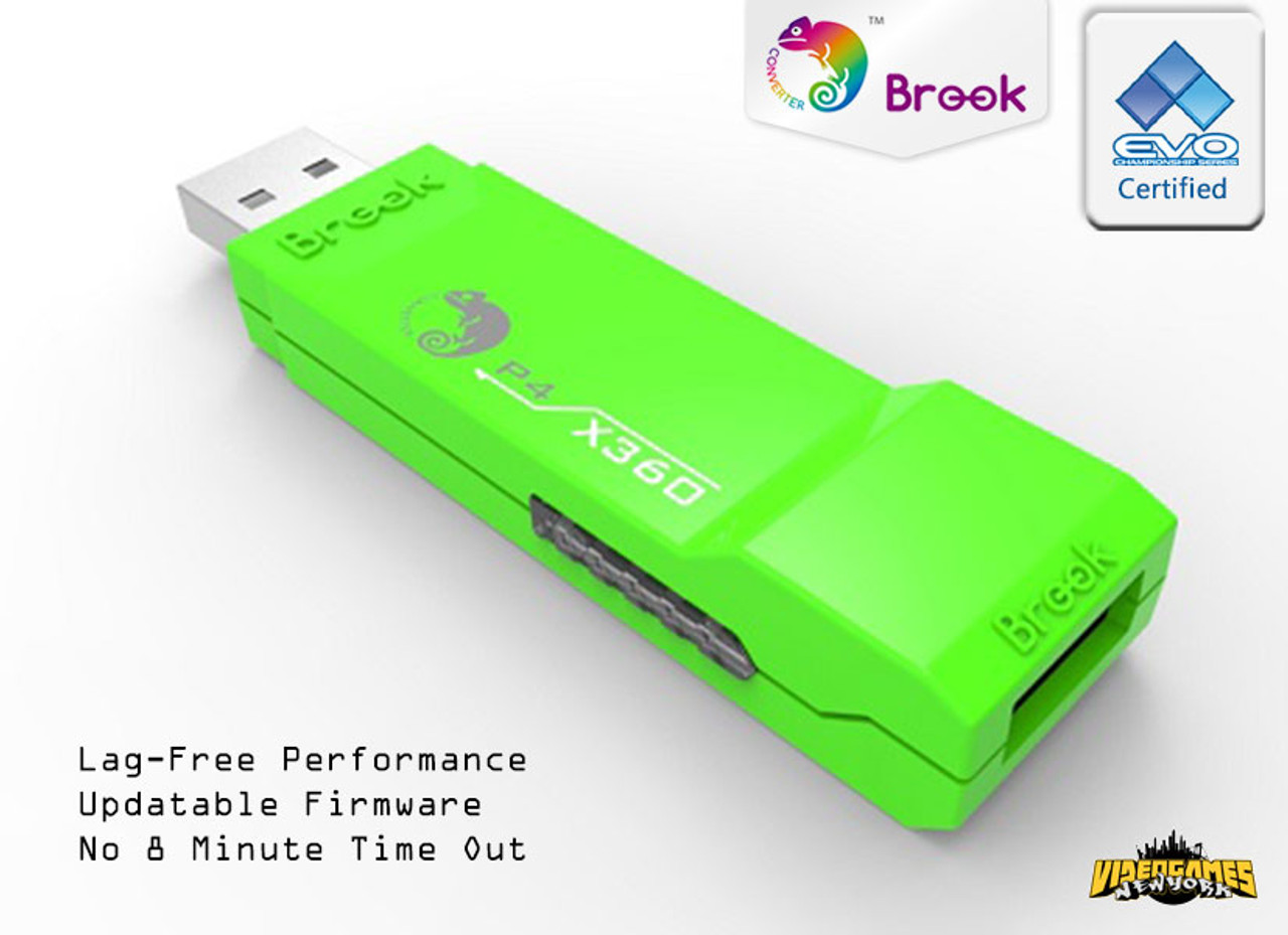Xbox 360 To Ps4 Controller Converter Adapter P4 Gn Brook