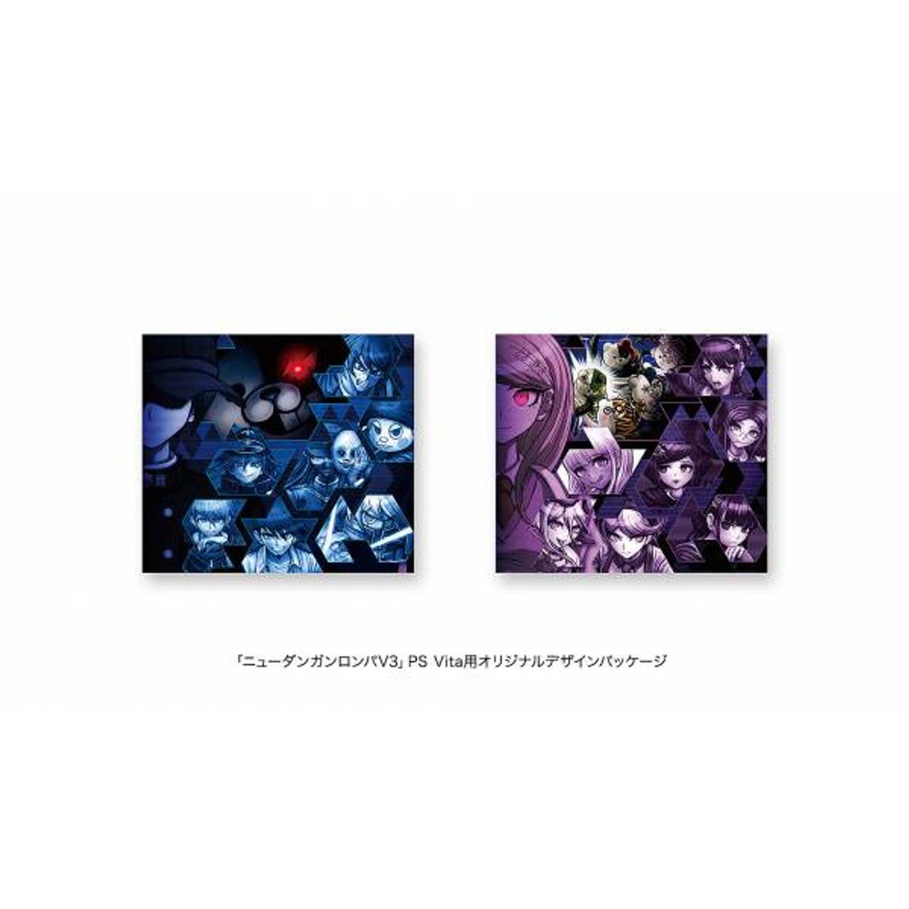 PlayStation Vita Slim DANGANRONPA V3 GLACIER WHITE LIMITED EDITION [JAPAN]