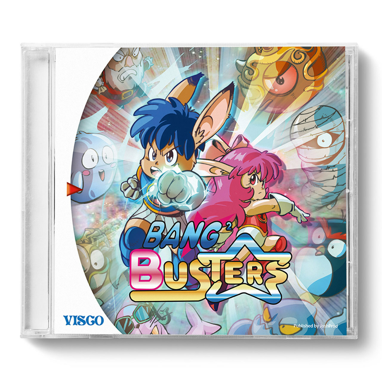 Bang Busters Sega Dreamcast At Videogamesnewyork Vgny