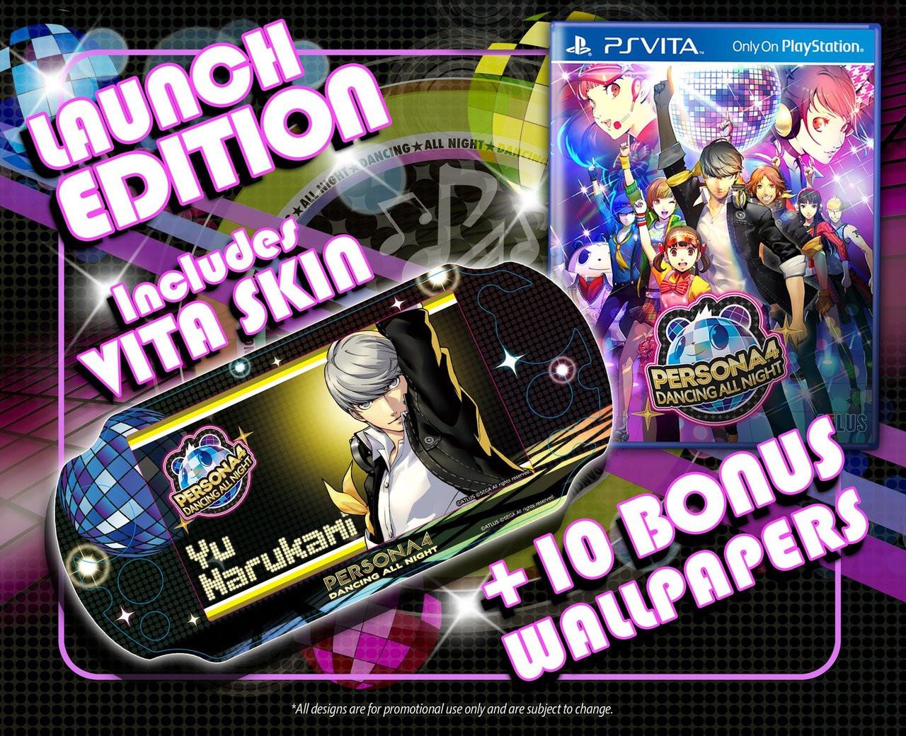 Persona 4: Dancing All Night - PlayStation Vita [Launch Edition]
