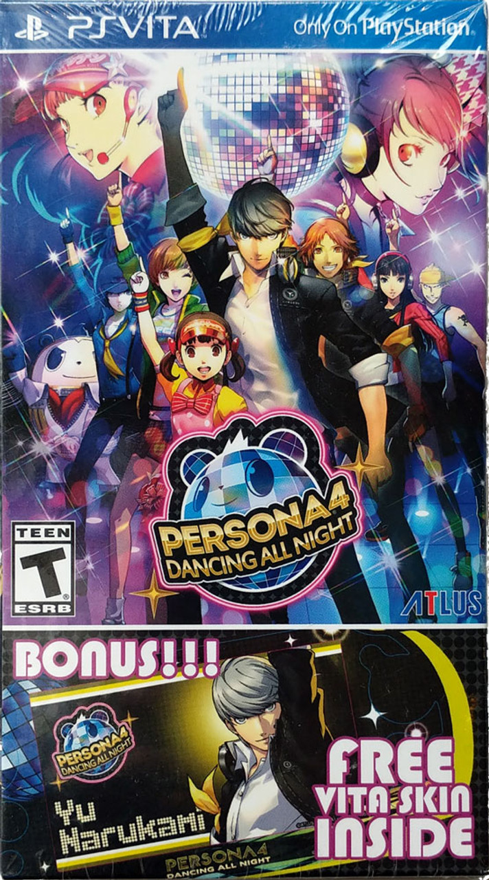 Persona 4 Dancing All Night Playstation Vita Launch Edition