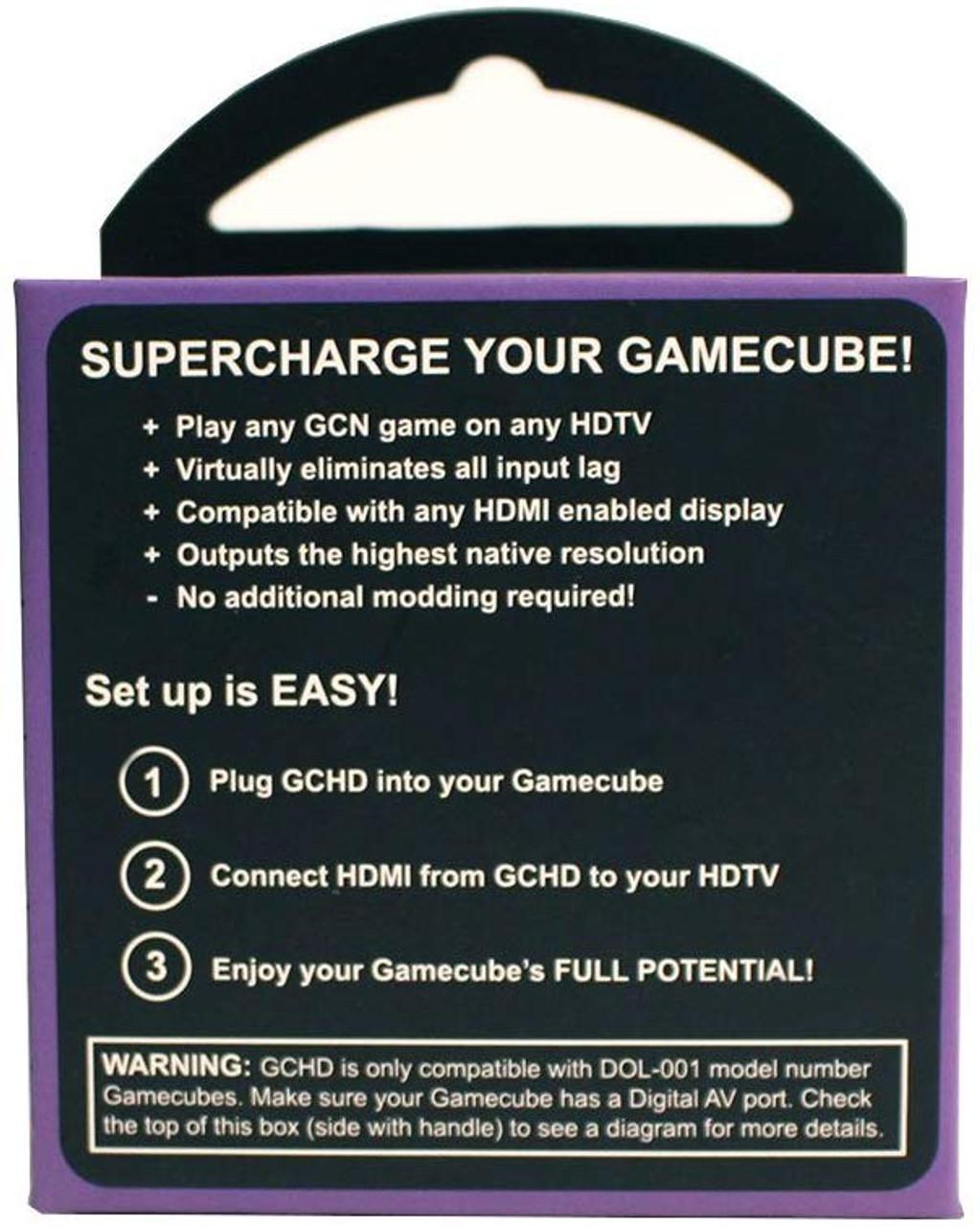 GCHD | Gamecube HDMI Adapter