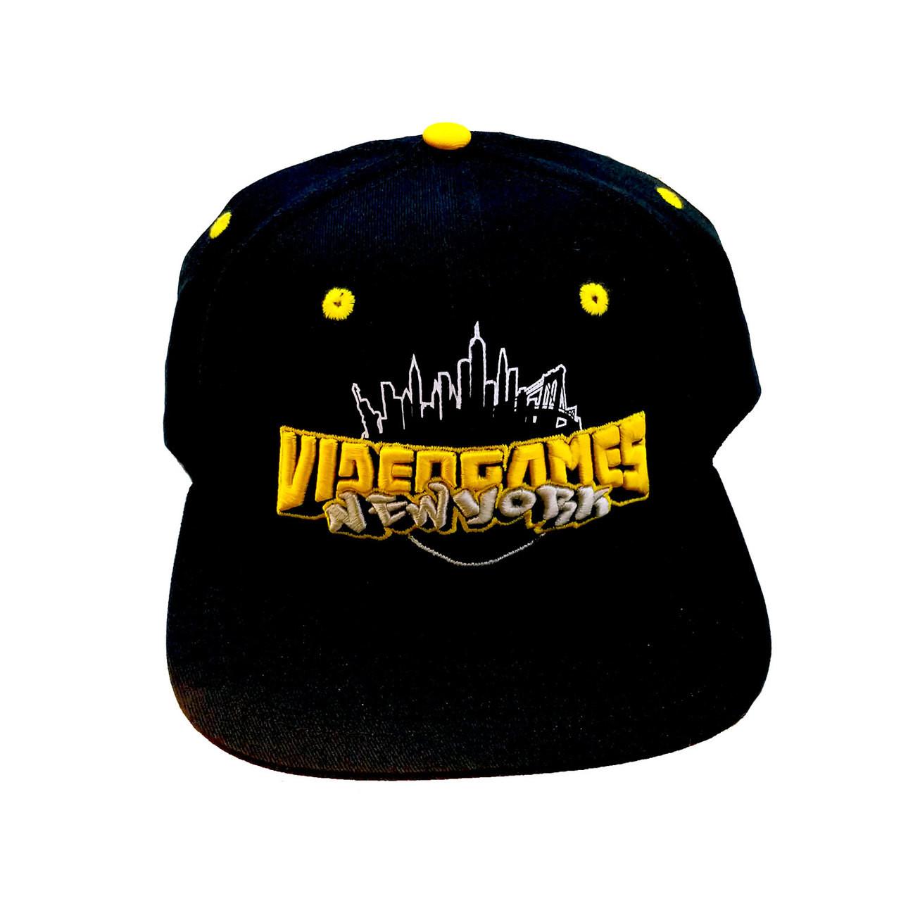 dbd7e0ae53a Videogamesnewyork Logo Hat - Videogamesnewyork