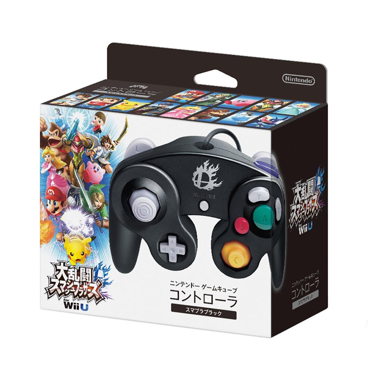 Nintendo Super Smash Bros Black Gamecube Controller Videogamesnewyork