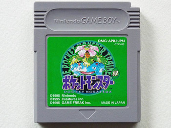 Pokemon Green [IMPORT] Pocket monsters Japan