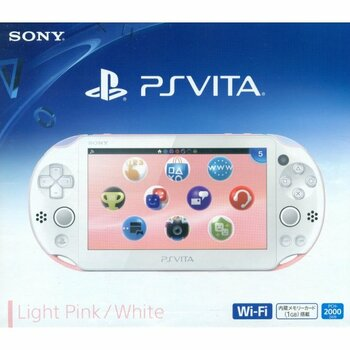 PS Vita Slim 2000 [LITE PINK / WHITE], PlayStation Vita, VideoGamesNewYork, VGNY