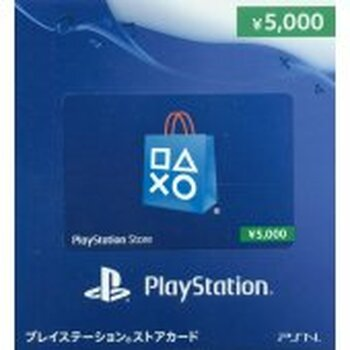 PSN 5000-YEN [JAPAN] POINT CARD, PlayStation Vita, VideoGamesNewYork, VGNY