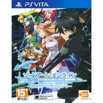 Sword Art Online: Hollow Fragment (Chinese & English Sub), PlayStation Vita, VideoGamesNewYork, VGNY