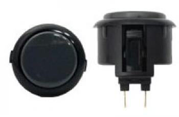 SANWA OBSF-30 mm Push button Black