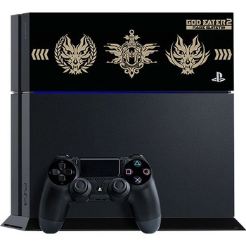 PlayStation 4 System [God Eater 2: Rage Burst Edition] (Jet Black) [JAPAN]