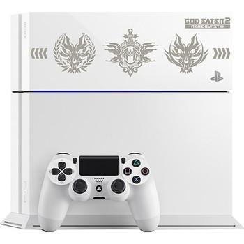 PlayStation 4 System [God Eater 2: Rage Burst Edition] (Glacier White) [JAPAN]