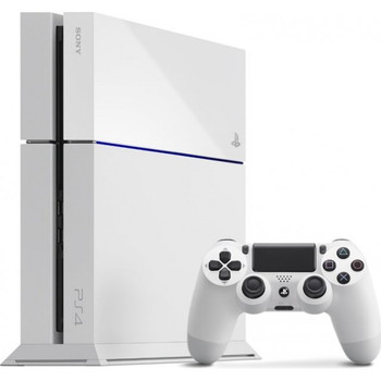 PlayStation 4 System (Glacier White) [JAPAN]