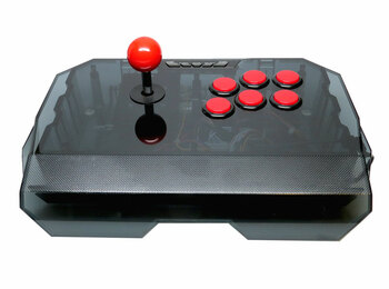Qanba N1 Arcade Stick [CLEAR BLACK]