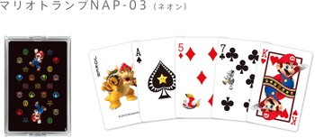 "Nintendo Japan ""Mario 3D"" Playing Card Set (POKER CARDS) NAP-03"