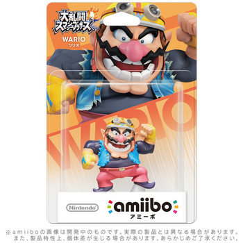 Wario Amiibo  - Japan Import