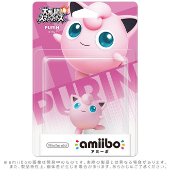 Jigglypuff Amiibo  - Japan Import