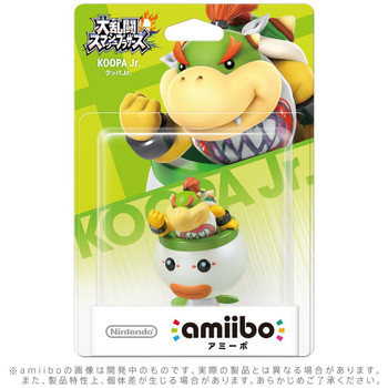 Koopa Jr. Amiibo  - Japan Import