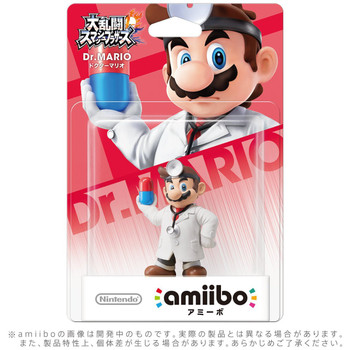Dr. Mario Amiibo  - Japan Import