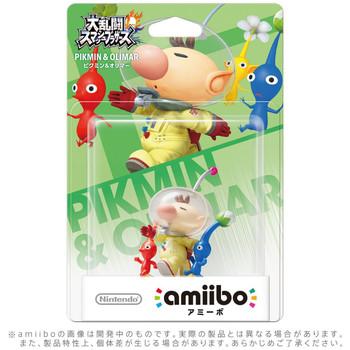 Pikmin & Olimar Amiibo - Japan Import