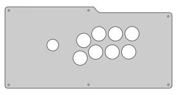 Plexi Overlay for Qanba Q4 Clear