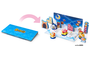 f9bb5afa3cb Diorama Kit for amiibo Kirby Series Nintendo Wii U