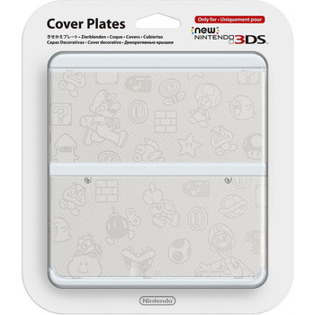 NEW NINTENDO 3DS COVER PLATES N. 023 (EMBOSS)