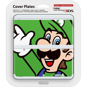 NEW NINTENDO 3DS COVER PLATES N. 002 (LUIGI)