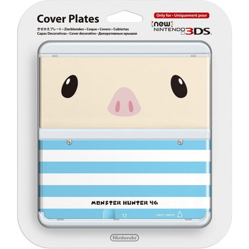 NEW NINTENDO 3DS COVER PLATES N. 038 (MONSTER HUNTER POOGIE)