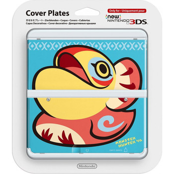 NEW NINTENDO 3DS COVER PLATES N. 037 (MONSTER HUNTER YIAN KUT-KU)