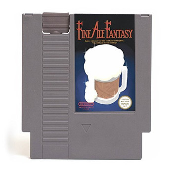 CONCEALABLE ENTERTAINMENT FLASK - FINE ALE FANTASY